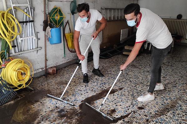 Nettoyage de maison suite à inondation